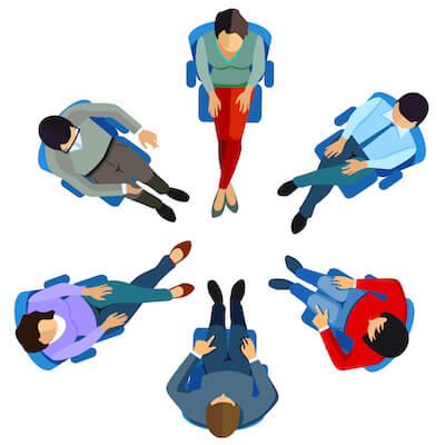 Group meeting image
