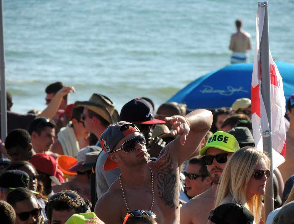 college beach party image