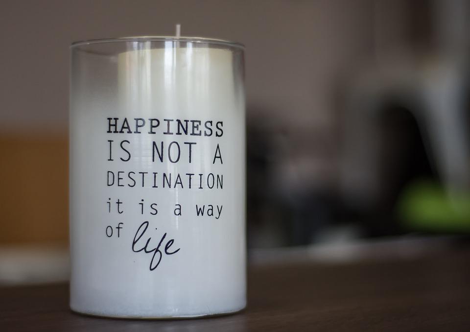 motivational candle image