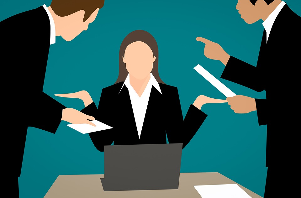Female CEO Collecting Reports Image