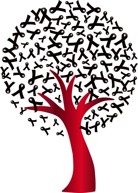 world aids day tree