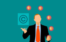 Cartoon image of business person