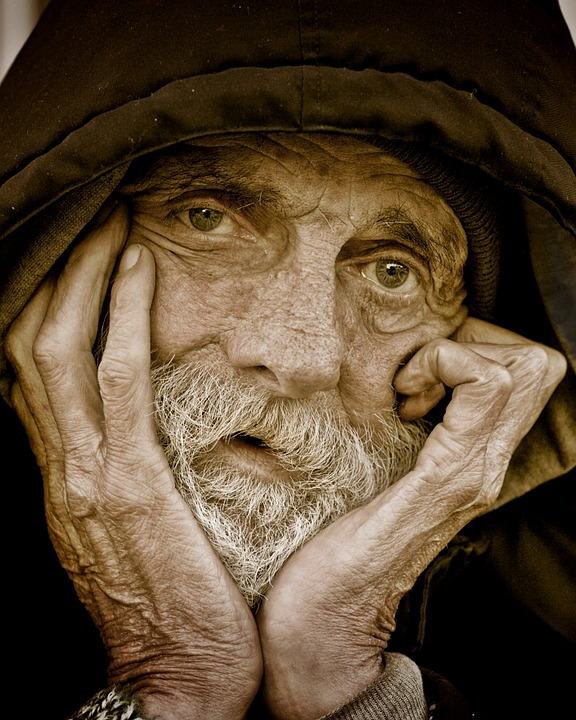 Elderly Man Image