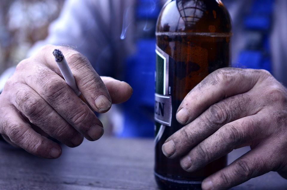 beer and cigarettes image