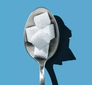 Spoonful of sugar cubes image