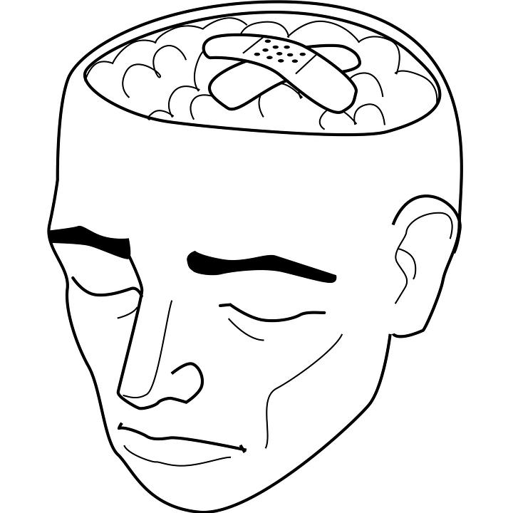 Bandaids on Brain Image
