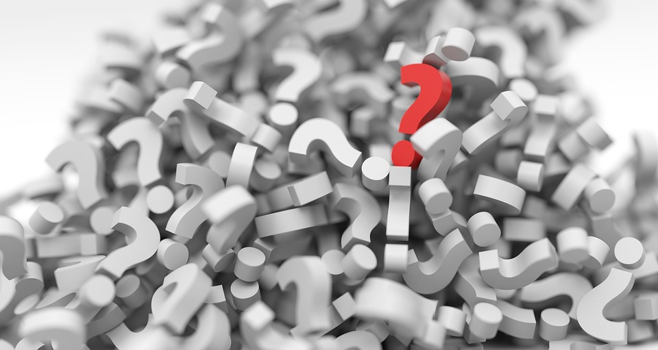 Pile of Question Marks Image