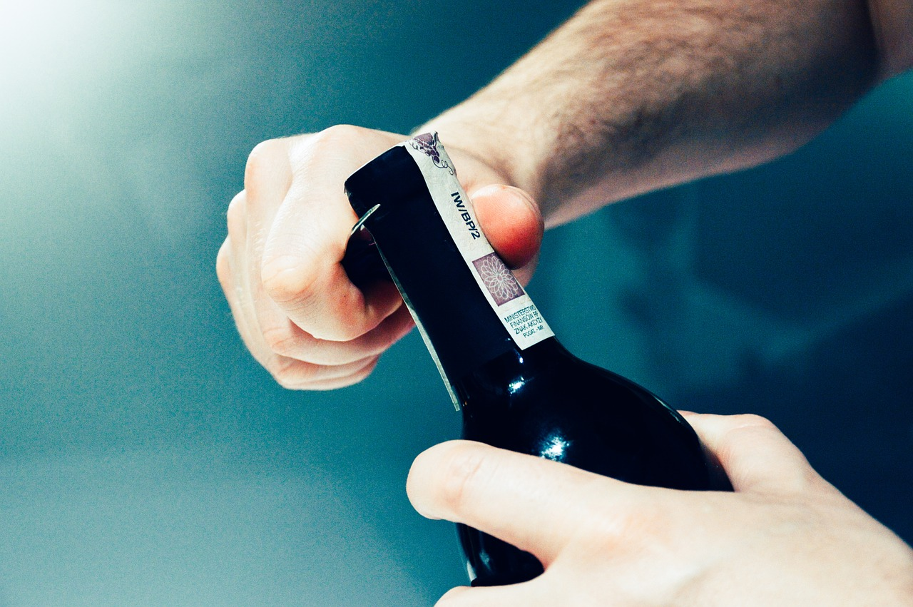 opening a wine bottle links to article
