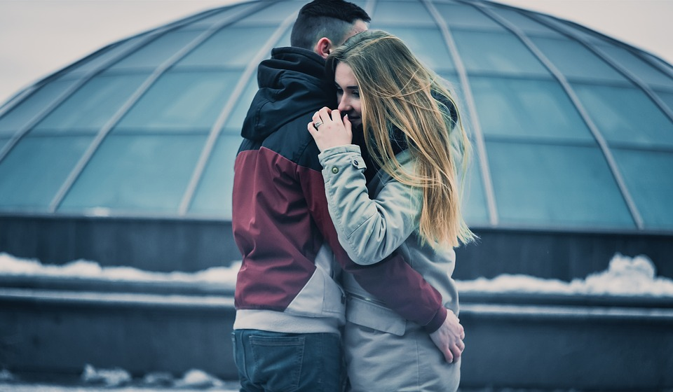 Couple Hugging Image