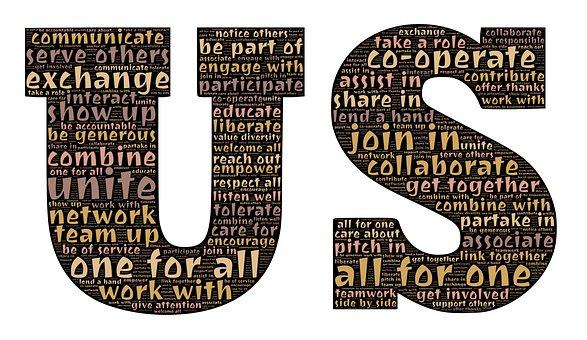 US word cloud image