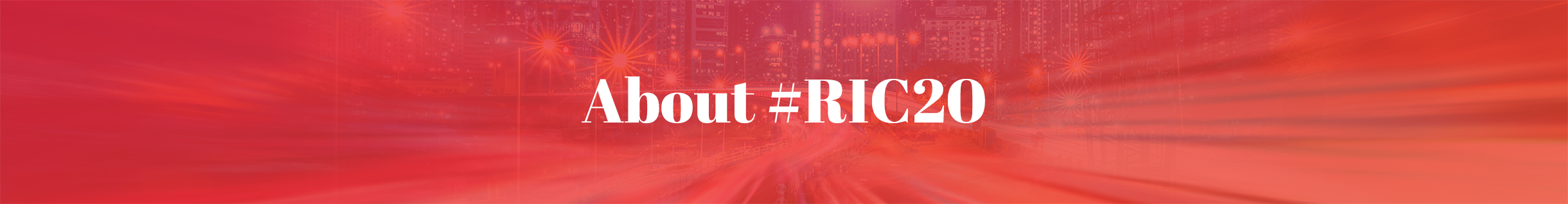 About #RIC20