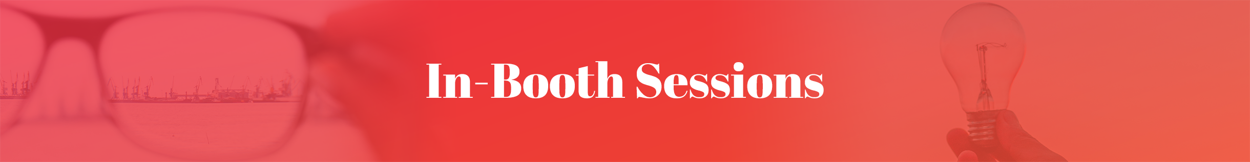 In-Booth Sponsor Sessions