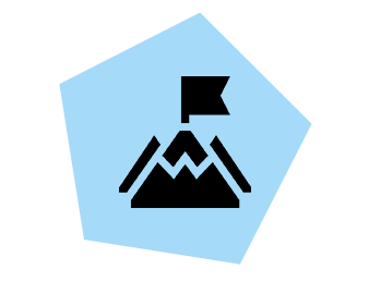 Mission and purpose icon