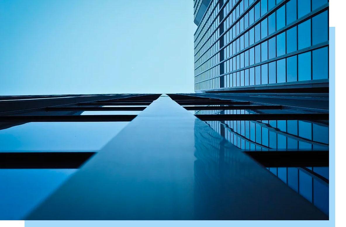 Buildings upward view