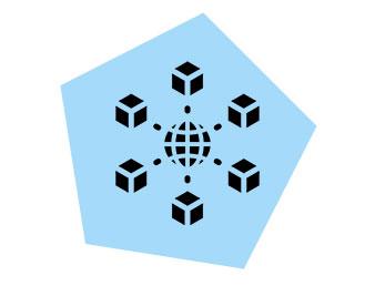 hub and spoke icon